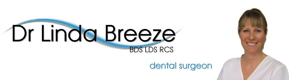 Dentist –  Cirencester, Dr Linda Breeze.